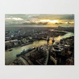 Sunrise from Shard Canvas Print