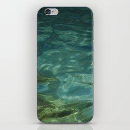 Turquoise iPhone Skin