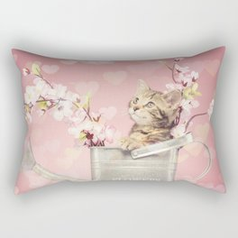 sweet kitty Rectangular Pillow