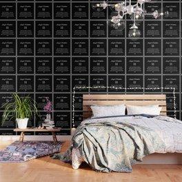 angel number 111 Black & White Affirmation Wallpaper