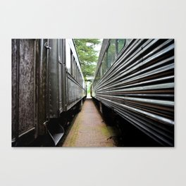 Two Trains Canvas Print