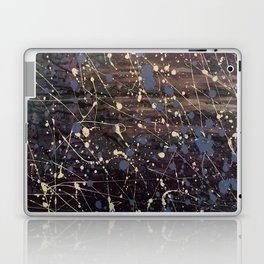 New York. Graffiti, Abstract, Blue, Purple, Pollack, Jodilynpaintings, Splatter Laptop & iPad Skin