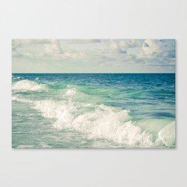 Tropical Beach Bliss Canvas Print