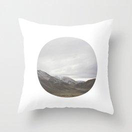 Lindis Pass II Throw Pillow