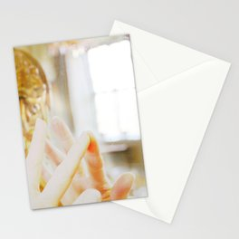 Reflection and connection Stationery Cards