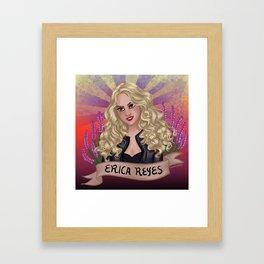 Erica Framed Art Print