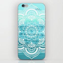 Mandala : Aqua Sunset Waters iPhone Skin