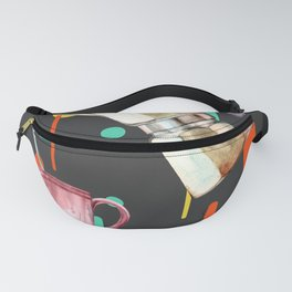Coffee Pop Art Collage Good Morning Fanny Pack