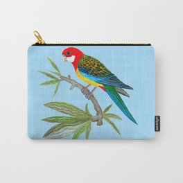 golden-mantled rosella Carry-All Pouch