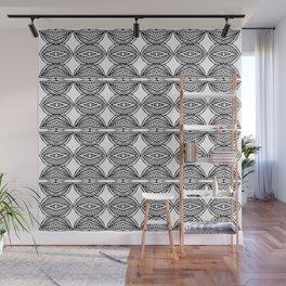 African ethnic geometric pattern 1 Wall Mural
