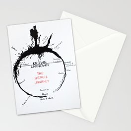 Hero's Journey Stationery Cards