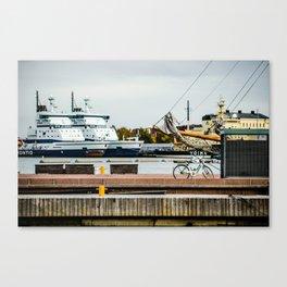 Helsinki Harbor Canvas Print