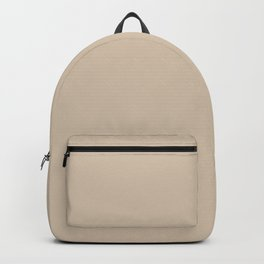 Monochrome, brown, Nude Backpack