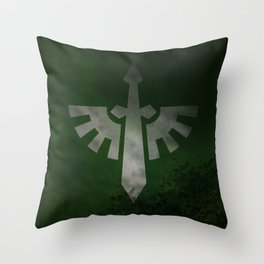 Repent! For tomorrow you die! Throw Pillow