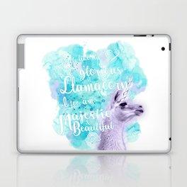 Much like the glorious llamacorn, I too am majestic and beautiful. Laptop & iPad Skin