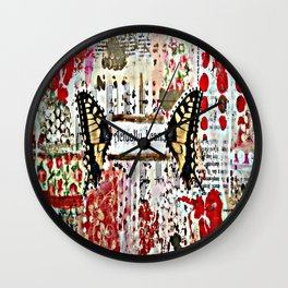 Original Art by Croppin' Spree Wall Clock