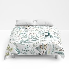 Eucalyptus pattern Comforters