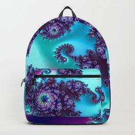 Jewel Tone Fractal Backpack