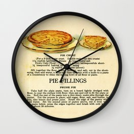 Pies - Vintage Wall Clock
