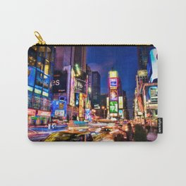 You Will Never Forget: Times Square, New York City Carry-All Pouch