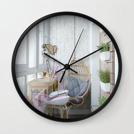 pijamas Wall Clock