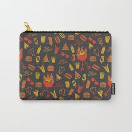 Kiss the Cook - Dark Palette Carry-All Pouch