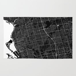 Toronto - Minimalist City Map Rug