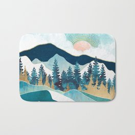 Summer Forest Bath Mat