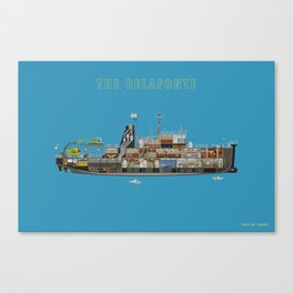 The Belafonte Canvas Print