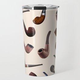 Tobacco Pipes Travel Mug