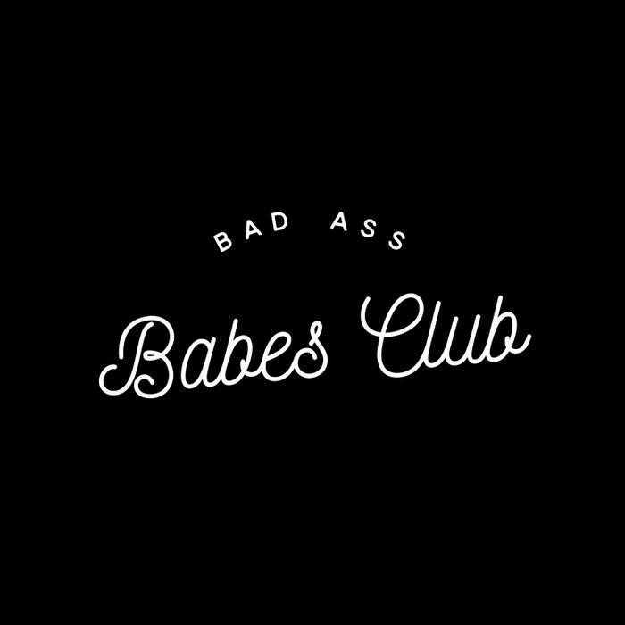 BAD ASS BABES CLUB B&W Duvet Cover