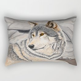 Awakened by the Sound of Play Rectangular Pillow