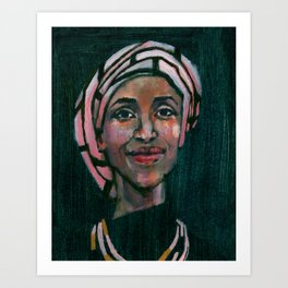 Ilhan Omar Art Print