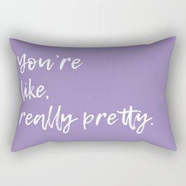 Regina George (Lilac) Rectangular Pillow