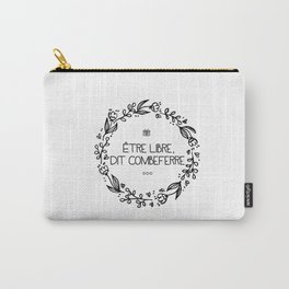 Être Libre, Dit Combeferre Carry-All Pouch