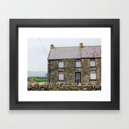 House - Dingle Peninsula, Kerry, Ireland Framed Art Print