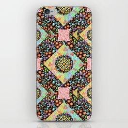 Boho Chic Patchwork iPhone Skin