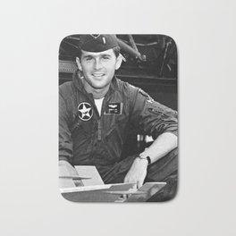 George W Bush in the Texas Air National Guard Bath Mat