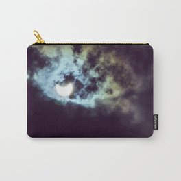 cloudy solar eclipse Carry-All Pouch