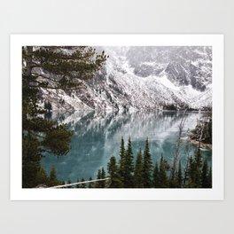 Glacial Dreams Art Print
