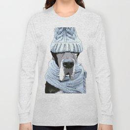 Great Dane Winter is Here Long Sleeve T-shirt