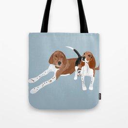Chloe and Wrigley Tote Bag