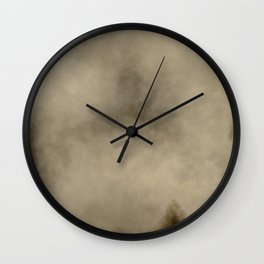 Burnt Parchment Wall Clock