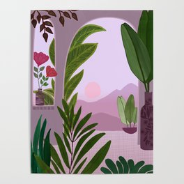 Tropical Morning Poster
