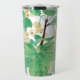 Branch of white currants Travel Mug