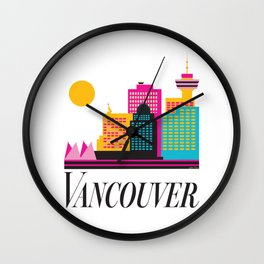 Vancouver Coal Harbour Wall Clock