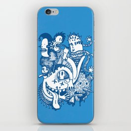 ILLOGICAL MADNESS iPhone Skin