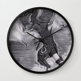 Dragoness Wall Clock