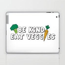 Be Kind Eat Veggies Laptop & iPad Skin