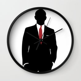 Skyfall, James Bond,minimalist design , alternative poster, Daniel Craig, Javier Bardem, Sam Mende Wall Clock